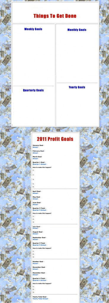 Achieving Personal Goals