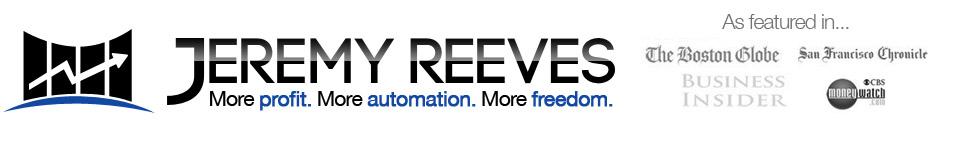 Direct Response Copywriter Jeremy Reeves